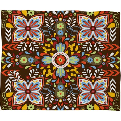 DENY Designs Khristian A Howell Wanderlust Polyester Fleece Throw Blanket