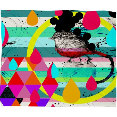 DENY Designs Randi Antonsen Luns Box 4 Polyester Fleece Throw Blanket