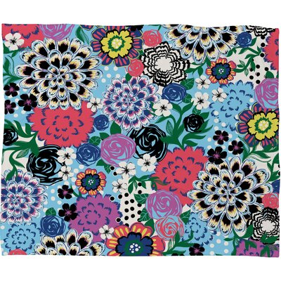 DENY Designs Khristian A Howell Valencia 1 Polyester Fleece Throw Blanket