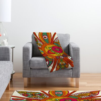 DENY Designs Valentina Ramos Liora Fleece Polyester Throw Blanket