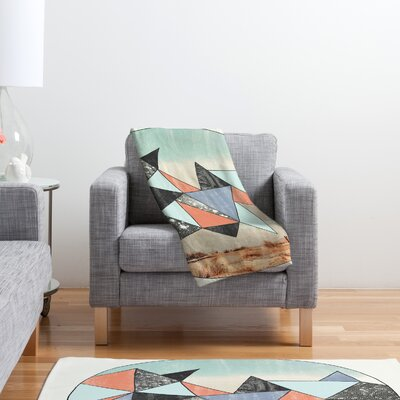 DENY Designs Wesley Bird Dry Spell Polyester Fleece Throw Blanket