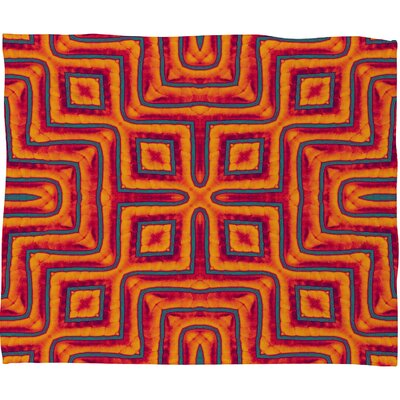 DENY Designs Wagner Campelo Sanchezia X Polyester Fleece Throw Blanket