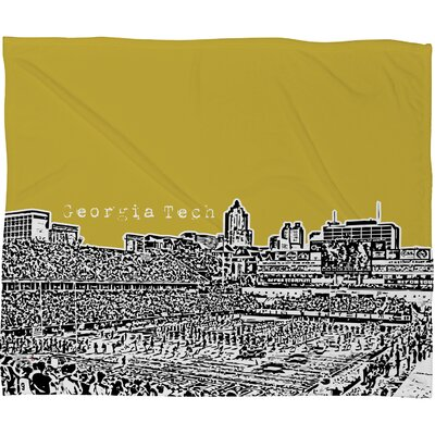 DENY Designs Bird Ave University Polyester Fleece Throw Blanket