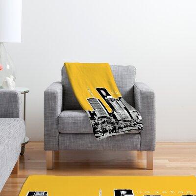 DENY Designs Bird Ave Houston Polyester Fleece Throw Blanket