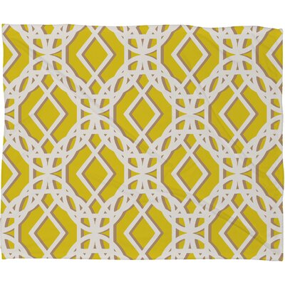 DENY Designs Aimee St Hill Diamonds Polyester Fleece Throw Blanket