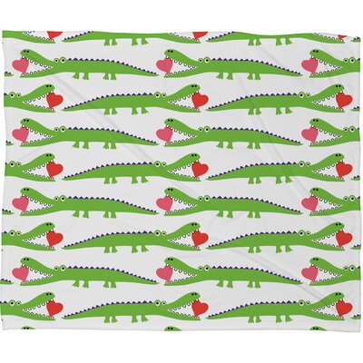 DENY Designs Andi Bird Polyester Fleece Throw Blanket