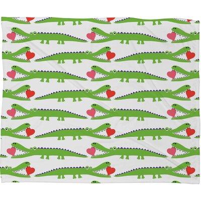DENY Designs Andi Bird Polyester Fleece Throw Blanket