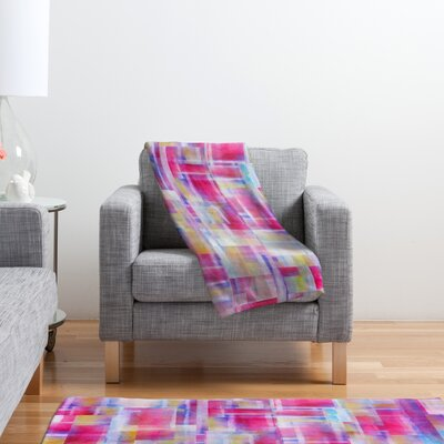 DENY Designs Jacqueline Maldonado Space Between Polyester Fleece Throw Blanket