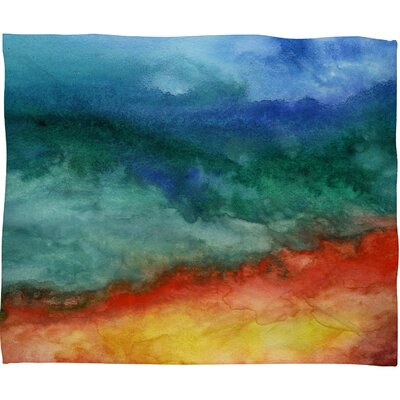Jacqueline Maldonado Leaving California Polyester Fleece Throw Blanket