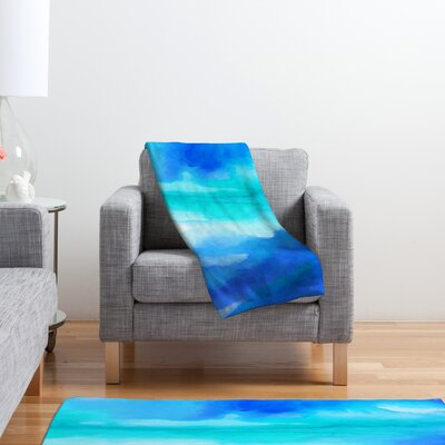 DENY Designs Jacqueline Maldonado Rise 2 Polyester Fleece Throw Blanket