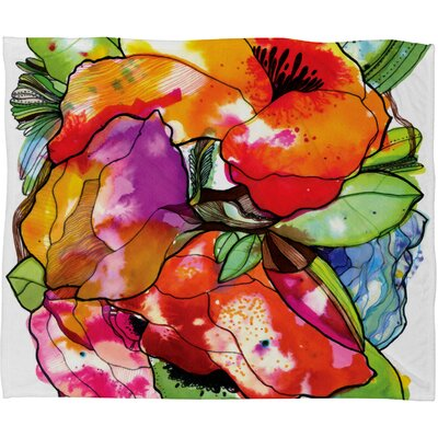 CayenaBlanca Big 2 Polyester Fleece Throw Blanket