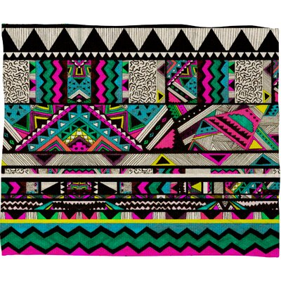 DENY Designs Kris Tate Polyester Fleece Throw Blanket