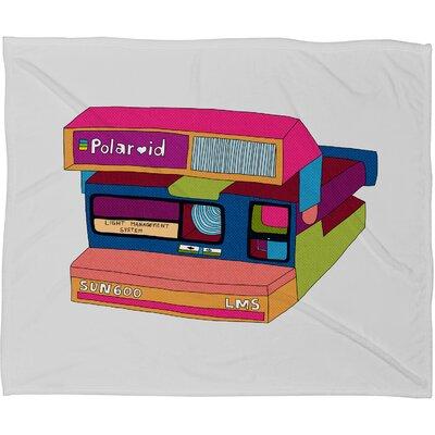 DENY Designs Bianca Green Captures Great Moments Polyester Fleece Throw Blanket