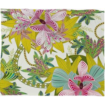 DENY Designs Sabine Reinhart Life Is Music Polyester Fleece Throw Blanket