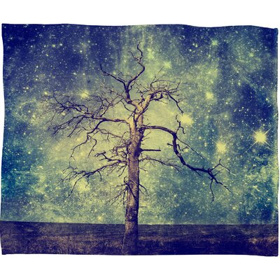 DENY Designs Belle13 As Old As Time Polyester Fleece Throw Blanket