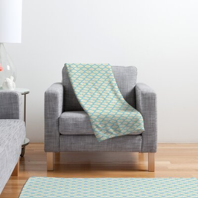 DENY Designs Sabine Reinhart Into The Sky Polyester Fleece Throw Blanket