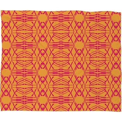 DENY Designs Pattern State Polyester Fleece Throw Blanket