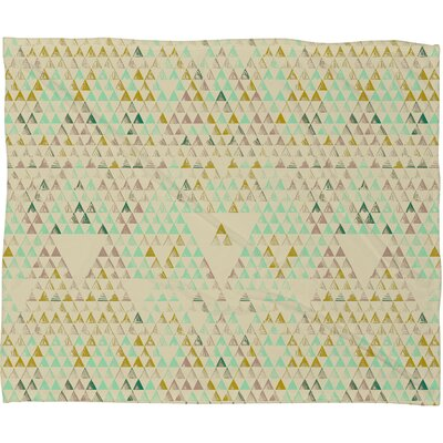 DENY Designs Pattern State Polyester Fleece Throw Blanket