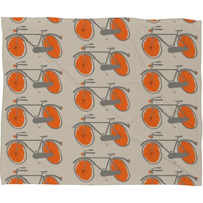 DENY Designs Mummysam Polyester Fleece Throw Blanket
