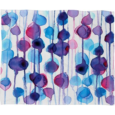 DENY Designs CMYKaren Polyester Fleece Throw Blanket