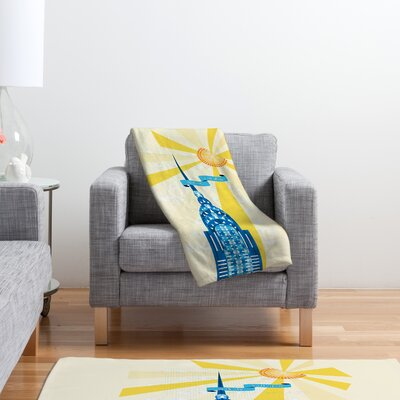 DENY Designs Jennifer Hill Polyester Fleece Throw Blanket