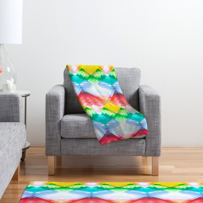 DENY Designs Deniz Ercelebi Polyester Fleece Throw Blanket