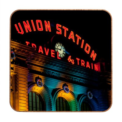 DENY Designs Union Station by Bird Wanna Whistle Framed Photographic Print Plaque