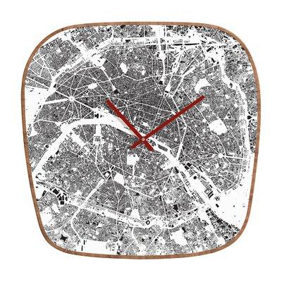 DENY Designs CityFabric Inc. Paris Wall Clock
