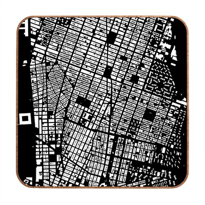 DENY Designs NYC by CityFabric Inc Framed Graphic Art Plaque