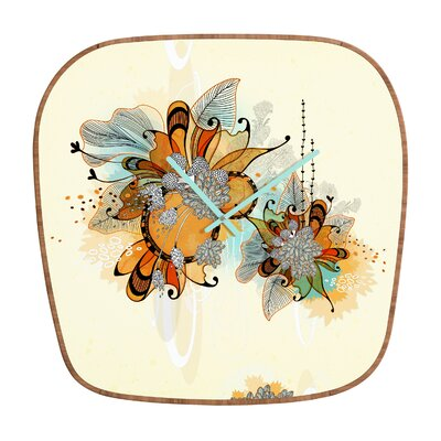 DENY Designs Iveta Abolina Sunset 2 Clock