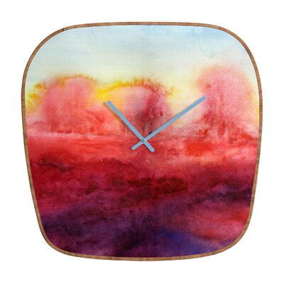 DENY Designs Jacqueline Maldonado Where I End Wall Clock