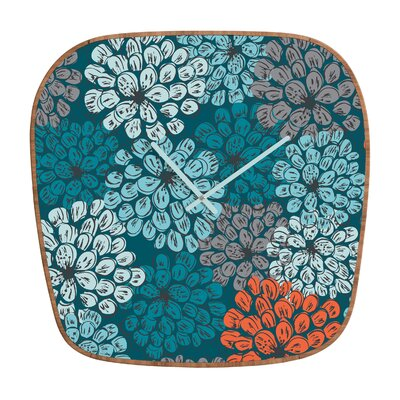 DENY Designs Khristian A Howell Greenwich Gardens Wall Clock