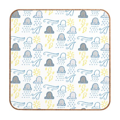 DENY Designs Jennifer Denty Clouds Wall Art