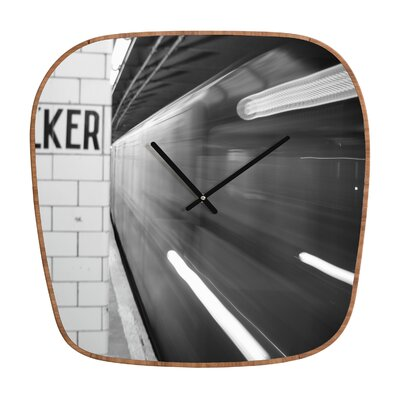 DENY Designs Leonidas Oxby The Subway Wall Clock