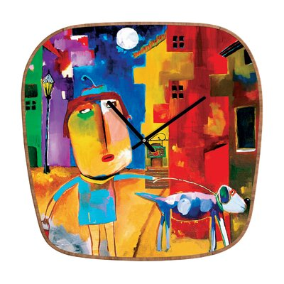 DENY Designs Robin Faye Gates Sylvia Needs Eggs Wall Clock