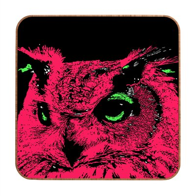 DENY Designs Owl by Romi Vega Framed Graphic Art Plaque