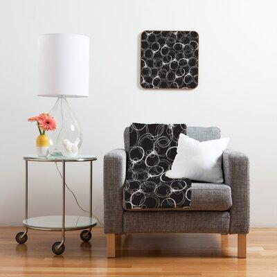DENY Designs Rachael Taylor Circles Polyester Fleece  Throw Blanket