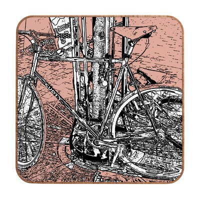 DENY Designs Bike by Romi Vega Framed Graphic Art Plaque