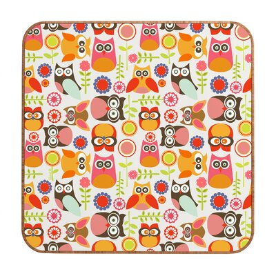 DENY Designs Cute Little Owls by Valentina Ramos Framed Graphic Art Plaque