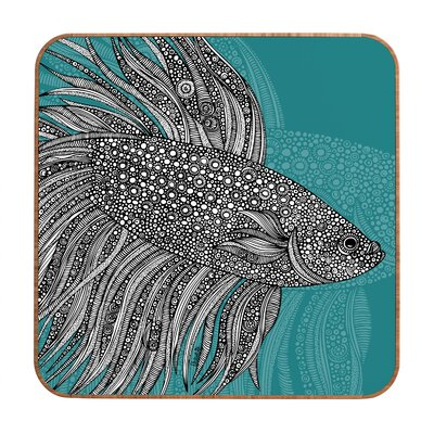 DENY Designs Beta Fish by Valentina Ramos Framed Graphic Art Plaque