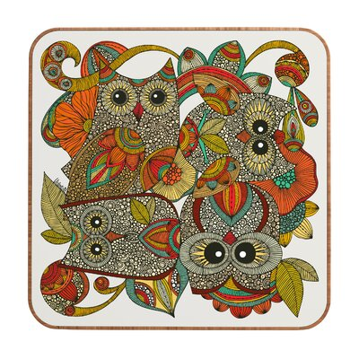 DENY Designs 4 Owls by Valentina Ramos Framed Graphic Art Plaque