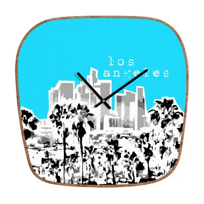 DENY Designs Bird Ave Los Angeles Wall Clock