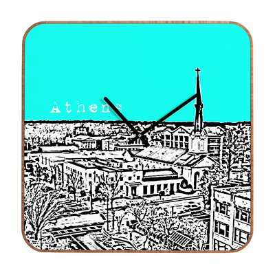 DENY Designs Bird Ave Athens Wall Clock