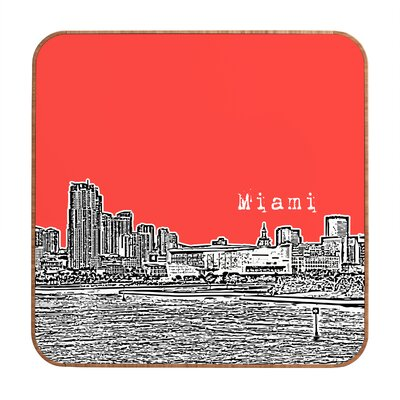 DENY Designs Miami by Bird Ave. Framed Graphic Art Plaque