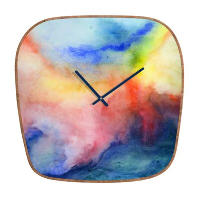 DENY Designs Jacqueline Maldonado Torrent 1 Clock