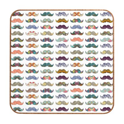 DENY Designs Mustache Mania by Bianca Green Framed Graphic Art Plaque