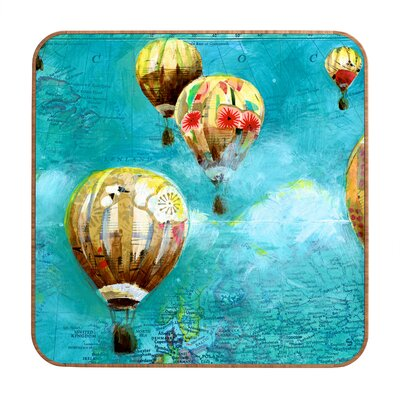 DENY Designs Land Of Lulu Herd of Balloons 2 Wall Art