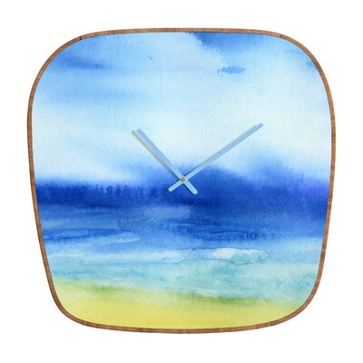 DENY Designs Jacqueline Maldonado Sea Church Clock