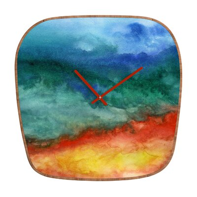 DENY Designs Jacqueline Maldonado Leaving California Wall Clock