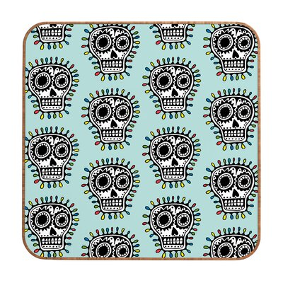 DENY Designs Sugar Skull Fun by Andi Bird Framed Graphic Art Plaque
